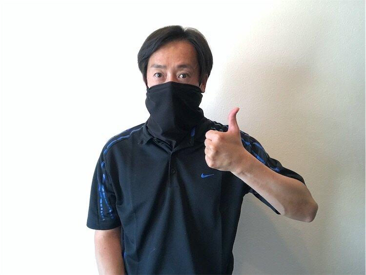 マスクの代わりにもなるネッククーラー
